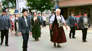 preview picture of video 'Schützenumzug Rehau 2012'