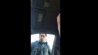 Police Threatens To Give Driver A Ticket For Honking Horn