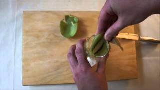 Как быстро почистить киви, самый удобный способ – Лайфхак Кухня