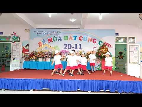 Nhảy hiện đại - lớp 5-6 tuổi 1