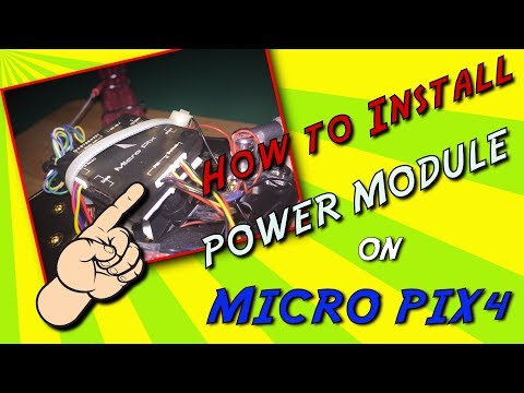 how-to-install-power-module-on-micro-pix4--easy-pinout-tutorial