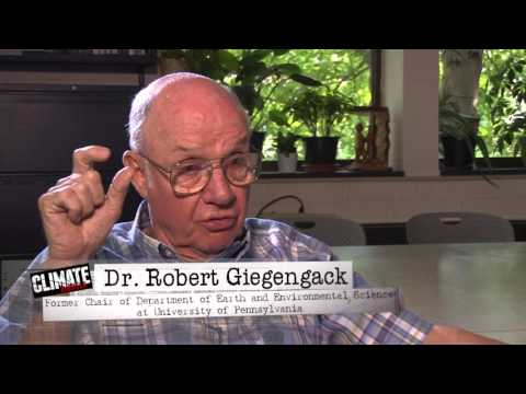 Prominent Geologist Dr. Robert Giegengack dissents – Laments 'hubris' of those who 'believe that we can 'control' climate – Denounces 'semi-religious campaign'