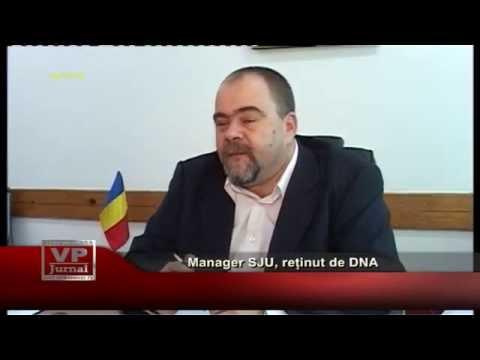 Manager SJU, reținut de DNA