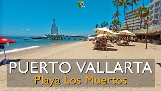 Puerto Vallarta Zona Romántica / Romantic Zone Playa Los Muertos / Beach