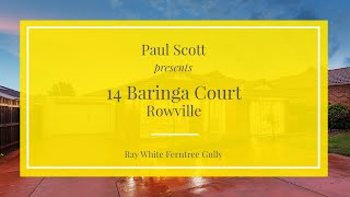 14 Baringa Court, Rowville - Ray White Ferntree Gully