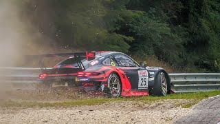 Nürburgring NLS 5 Highlights, Almost Crash, SCG004 Blown Engine & Action! - 28 08 2020 Nordschleife