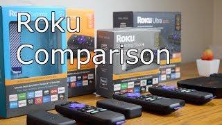 Roku Comparison: Express vs. Premiere vs. Streaming Stick vs. Ultra