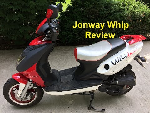 Jonway Whip 50cc Moped Scooter Review