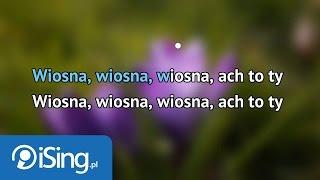 Marek Grechuta - Wiosna - Ach To Ty (karaoke iSing)