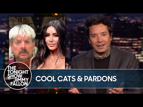 Joe Exotic Asks Kim Kardashian for Help with President Trump Pardon | The Tonight Show