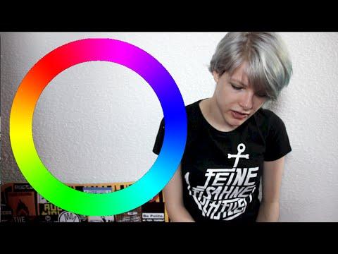 Der Pigmentfleck auf der medialen Seite der Hüfte