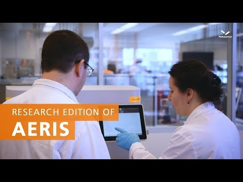 Research edition of Aeris - Your companion for quick everyday analysis of your materials