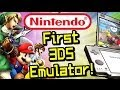 FIRST NINTENDO 3DS EMULATOR & Scam Warning!