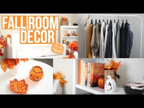 How To Decorate Your Room For Fall! + DIY Decor