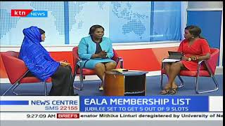 Pamela Odhiambo Women rep Migori reacts to the EALA nomination list