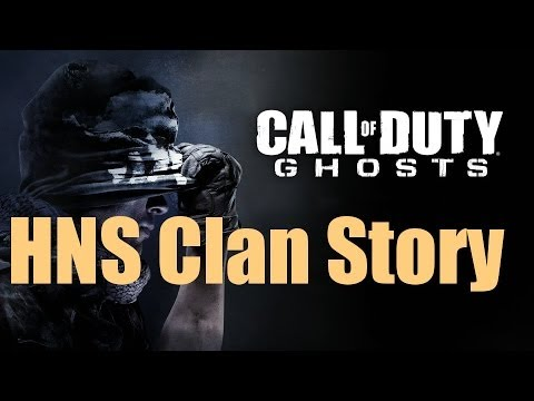 HNS Clan Story CoD Ghosts Live Com