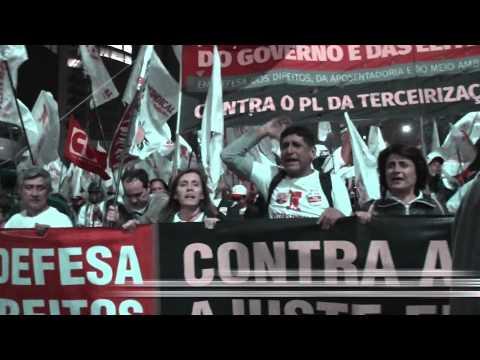 Intersindical marcha por mais direitos, contra direita e ajustes do governo