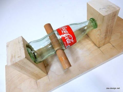How to Drill holes in a Glass Bottle