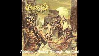 Aborted - Nailed Through Her Cunt (Track 15)