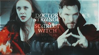 doctor strange & scarlet witch | masters of the mystic arts