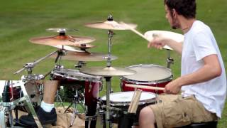 Dance Gavin Dance - The Backwards Pumpkin Song Drum Cover