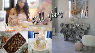 Fall Decorate, Clean & Bake With Me! ! #iHeartFall Ep 17 MissLizHeart