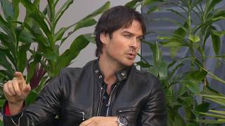 Иэн Сомерхолдер, Ian Somerhalder discusses environmental activism, upcoming 'Cold Wash Party' and more