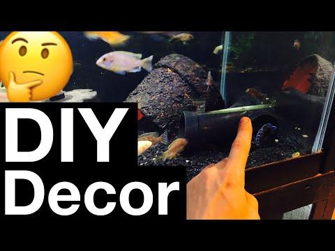 DIY Aquarium Decorations – My 5 Favorite Ideas