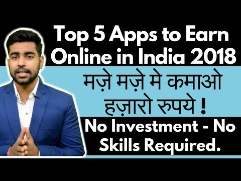 Top 5 Apps to Earn Money Online | Earn from Smartphone | Without Investment Work | Earn from Home