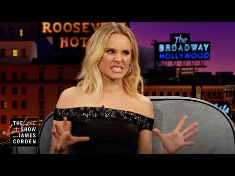 Kristen Bell Explains How to React to Getting Punched