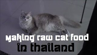 Why is cat food made in thailand
