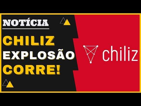 CHILIZ CHZ VAI EXPLODIR! NOVA PARCERIA! CRIPTOMOEDA VAI SUBIR MUITO! OPORTUNIDADE PROMISSORA! CORRE!
