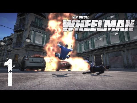 Вин Дизель Wheelman Прохождение Часть 1 - Я за РУЛЕМ!