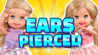 Barbie - Who's Getting Their Ears Pierced? | Ep.250