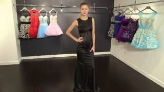 Black Sleeveless Long Prom Dress 74294 | Jovani