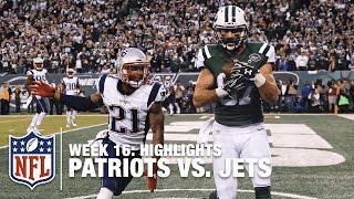 Patriots vs. Jets | Week 16 Highlights | NFL