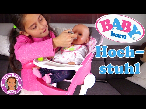 BABY BORN DELUXE HOCHSTUHL Neue Puppenausstatung für Lotta | CuteBabyMiley