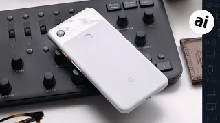 Google Pixel 3a XL: Hands-on (Clearly White)