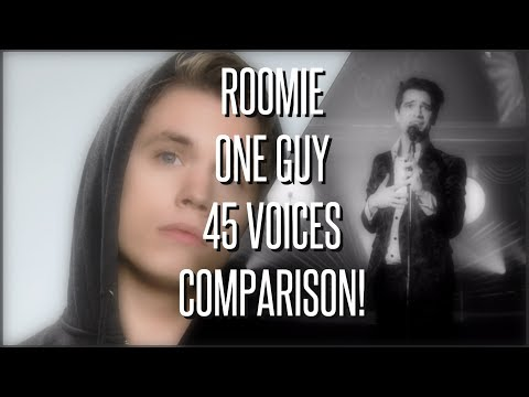 HOW DOES ROOMIE'S VOICE COMPARE TO THE CELEBRITIES'? (Roomie: 1 Guy 43 Voices) Mp3
