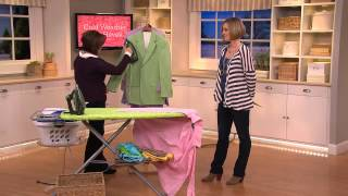 Rowenta 1700W EcoIntelligence Steam Iron with 3D Soleplate with Kerstin Lindquist