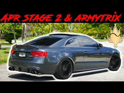 Audi S5 Complete Mod List and Walk-around(Apr and Armytrix)