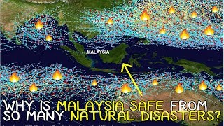 WHY IS MALAYSIA SAFE FROM EARTHQUAKES AND TSUNAMIS?