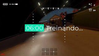 Evolução de 6 horas de Treino no Simulador FPV Liftoff