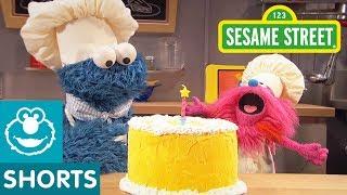 Sesame Street: Making Birthday Cake | Cookie Monsters Foodie Truck