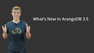 Vidéo de ArangoDB