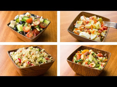4 Healthy Salad Recipes For Weight Loss