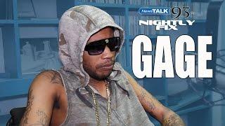 Gage talks 'Throat' impact, Sizzla reprimand, Vybz Kartel influence + saving dancehall? @NightlyFix