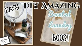 EASY DIY SCENTED Laundry BOOSTER | Tips, Tricks And Recipes Using ESSENTIAL OILS
