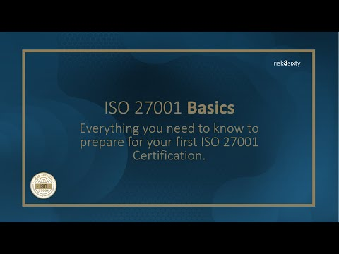 ISO 27001 Basics: Everything You Need to Get Certified - YouTube