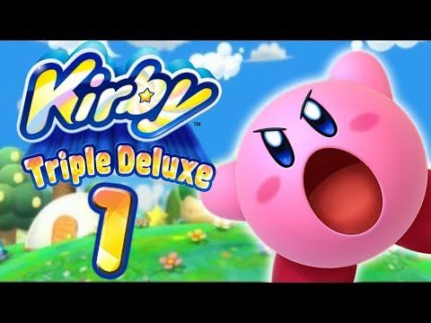 Let's Play Kirby Triple Deluxe Part 1: Die Premiere der rosa Knutschkugel